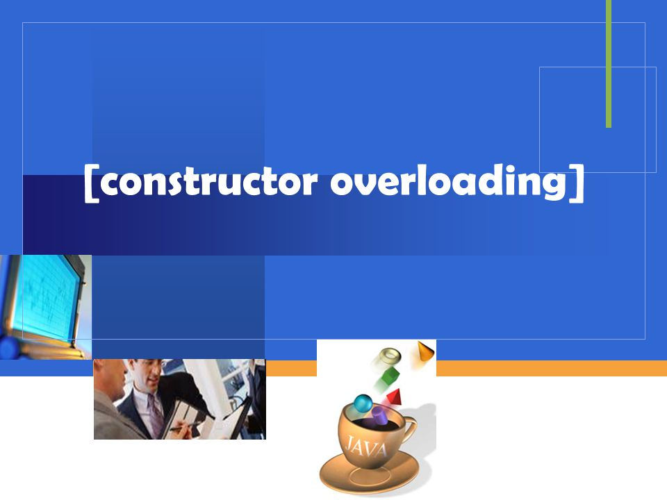 [constructor overloading]